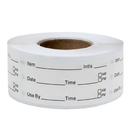 Officeship 500 PCS Removable Freezer Stickers Food Storage Labels, Meal Prep Labels for Containers