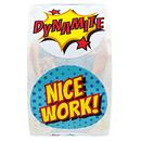 Officeship 500 PCS 1 Inch Teacher Reward Motivational Stickers Nice Work Stickers Label