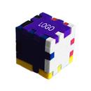 Custom Foam Desktop Puzzle Cube - Mixed Color (2.35
