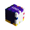 Custom Foam Desktop Puzzle Cube - Mixed Color (2.35