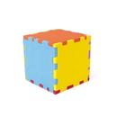 Blank Foam Desktop Puzzle Cube without Holes - Mixed Colors (3