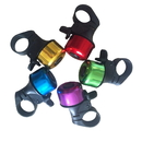 Blank Aluminum Mini Bicycle Bell Fits 22.2mm (.87) Handlebars
