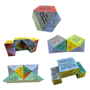 Customized Rhombus Magic Cube 4cm