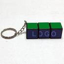 Custom Cube Puzzle with keychain 1x3