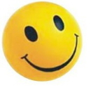 Customized Happy Face Stress Reliever