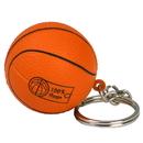 Customized Basketball Key Chain Stress Ball