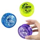 Blank Clear Plastic Yo-Yo, 2 1/4