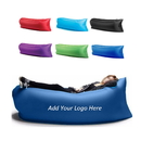 Custom Inflatable Sleeping Lounger, 210D Polyester, 72