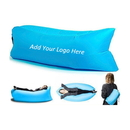 Custom Inflatable Air Lounger Bag for Camping/Beach/Park, Water-Repellent Nylon Fabric, 72