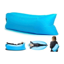 Inflatable Air Lounger Bag for Camping/Beach/Park, Water-Repellent Nylon Fabric, 72