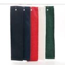 Medium Weight 100% Cotton Hemmed Tri Fold Golf Towel, 15 3/4