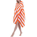 Lightweight Beach Towel Absorbent Microfiber Stripe Fast Drying Terry Spa Shower Bath Towel, 63