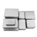 Aspire 4 x 2.75 x 0.78 Inch Metal Tin Box Containers, Mini Portable Small Storage Containers Kit, Tin Box Containers, Small Tins with Lids