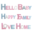 Aspire Wooden Alphabet Letters Sign Plaque Wall Home Office Wedding Party Decoration