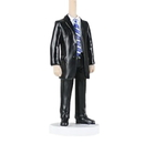 Custom Bobbleheads - Man in Black Suit, Approx. 7