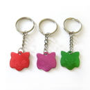 Custom Aluminum Cat shaped Pet Tags with Ball Chain, Laser Engraved