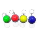 Blank Mini Baseball Cap Light Up Key Ring