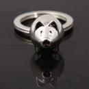Custom Charm Metal Mini Pig Key Chain, Laser Engraved