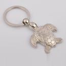 Custom Mini Sea Turtle Metal Key Chain, Laser Engraved