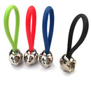 Custom Metal Mini Pig with Silicone Key Chain, Laser Engraved