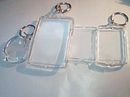Custom Rectangle Clear Acrylic Key Chain (3 Days)
