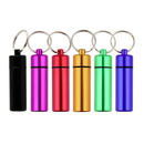 Blank Large Aluminum Canister Key Chain, 2-3/8