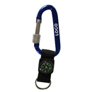 Custom Screw Lock Carabiner with Compass, 3-1/8