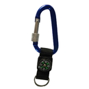 Blank Screw Lock Carabiner with Compass, 3-1/8