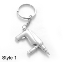 Customized Mini Lovely Drill with Keychain, Laser Engraved