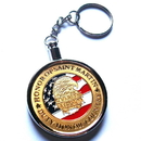 Custom Metal Casino Poker Chip with Detachable Keychain, 1.6