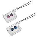 Hourglass Book Shape Key Chain, Couple Keychain, Perfect Valentine's Day Gift, 1 Pair