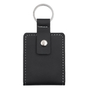 Blank Leather Keychain with Mini Photo Holder, Key Fob Wallet, 2.95
