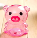 Custom Piggy Bank, Plastic Material, Long Leadtime