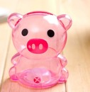 Blank Piggy Bank, Plastic Material