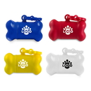 Custom Pet Watse Bag Dispenser, Bone Shaped Dispenser with 15 Bags, 3 1/4