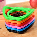 Custom Colorful Stainless Steel Apple Corer Slicer, Fruit Cutter Divider, 3 3/4