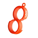 Custom Number 8 Shape Orange Peeler, Large Citrus Peeler, 2.3