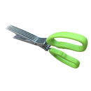 Custom 5 Blade Chopped green onion & Herb Scissors, 7