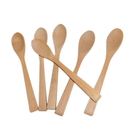 Blank Bamboo Spoon, Solid Bamboo Soup Spoons, Three Size