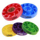 Custom Anti Choking Slow Feed Pet Bowl, 8