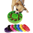 Blank Anti Choking Slow Feed Pet Bowl, 8