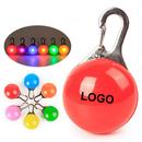 Custom Pet Collar Safety Light Pendant, 2-1/8