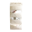 Blank Wall Door Cloth Hanging Storage bag organizer, 13-7/9