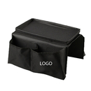 Custom Oxford Sofa Couch Armrest Pocket Organizer / Remote Control Organizer, 22-4/9