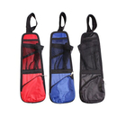 Blank Portable Car Seat Side Hanging Storage Bag with Multi-pocket Mesh, 14.5