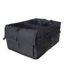 Blank Foldable Car Grocery Storage Container Trunk Organizer with Adjustable Side Plastic Clip