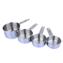 Stainless Steel Measuring Cups Set- 4Pcs (60ML/80ML/125ML/250ML), Dishwasher Safe