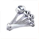Custom Measuring Spoons Set - 5 Stainless Steel Engraved Spoons, Laser Engraved