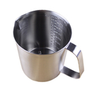 24-Ounce Stainless Steel Frothing Pitcher for Espresso Machine, Milk Frother, Latte Art