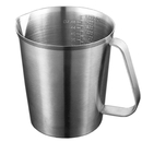 48-Ounce Stainless Steel Frothing Pitcher for Espresso Machine, Milk Frother, Latte Art